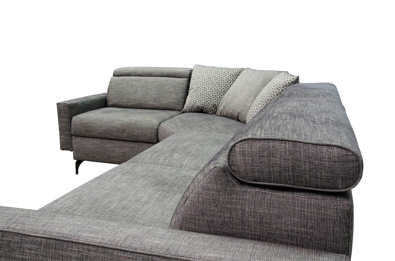Divano salo b v divani - Divano angolo tondo ...